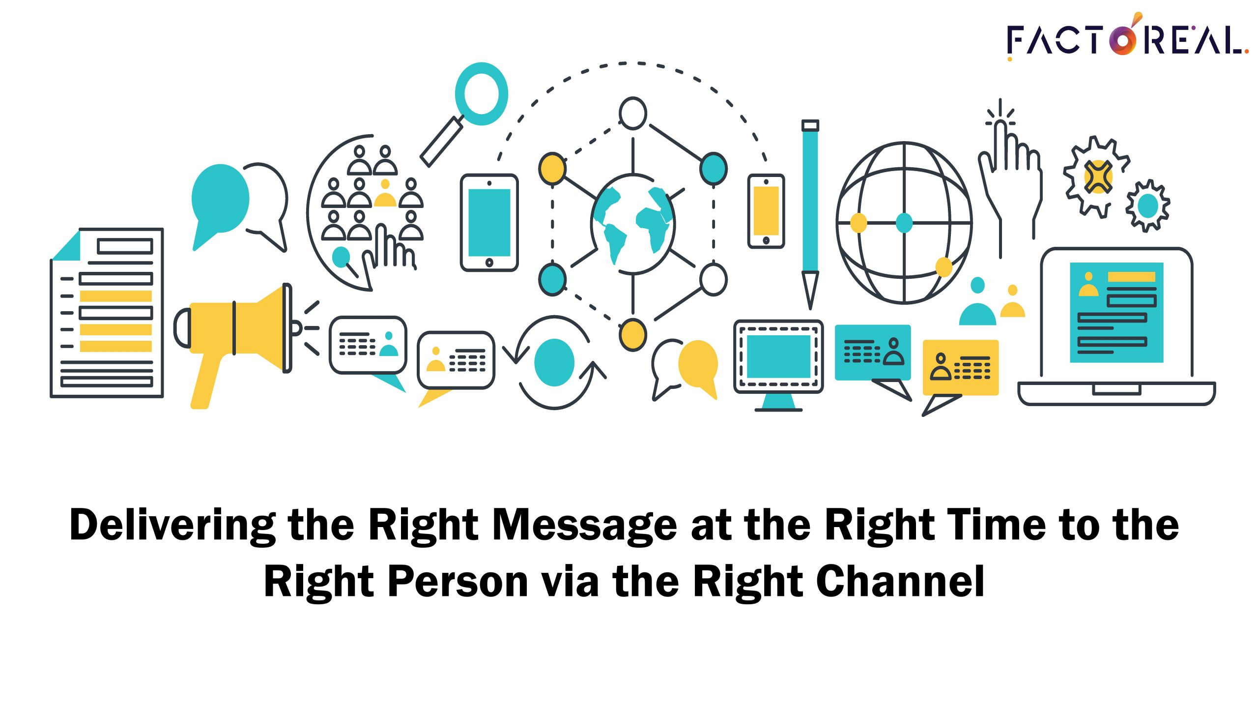 Delivering the Right Message at the Right Time to the Right Person via the Right Channel